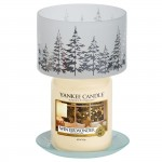 "Accesoriu Borcan Mare/Mediu ""Winter Trees"", Yankee Candle"