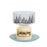 "Accesoriu Borcan Mic ""Silver Forest"", Yankee Candle"
