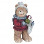 "Decoratiune ""Cute Teddy Bear with presents"""