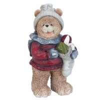 "Decoratiune ""Cute Teddy Bear with presents"""