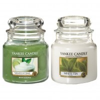 Set aromoterapie, EDITIE LIMITATA Tea, Lime and VANILLA, YANKEE CANDLE