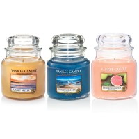 Set aromoterapie, EDITIE LIMITATA Life's a BEACH, YANKEE CANDLE