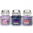 Set aromoterapie,  EDITIE LIMITATA Violet NIGHTS, YANKEE CANDLE