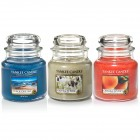 Set aromoterapie,  EDITIE LIMITATA Postcard from GREECE, YANKEE CANDLE