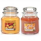 Set aromoterapie, EDITIE LIMITATA Fruits POWER, YANKEE CANDLE