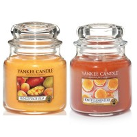 Set aromoterapie, EDITIE LIMITATA Fruits POWER, YANKEE CANDLE