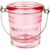 "Suport Lumanare Votive ""Pink bucket"", Yankee Candle"