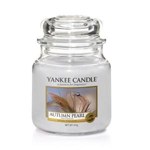Lumanare Parfumata Borcan Mediu Autumn Pearl, Yankee Candle