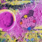 Bila efervescenta de baie Fizzy Rascal - Watercolours, Bomb Cosmetics 150g