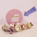 """Set cadou 7 saruri de baie """"Floral Fantasy"""", Bomb Cosmetics"""