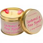 Lumanare parfumata  Caramel & Pink Pepper, Bomb Cosmetics