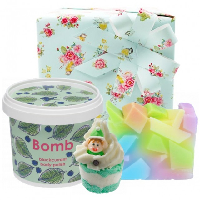 "Set cadou ""Powdered Pastels"", Bomb Cosmetics"