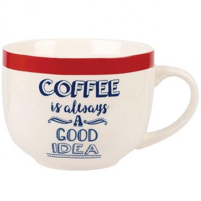 "Cana Chasing Rainbows ""COFFEE Is Always A Good Idea"", Churchill"