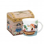 """Cana din portelan """"Pirates"""" 285ml in cutie cadou, Churchill"""