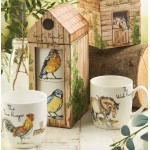 """Set 2 cani din portelan Country Pursuits """"The Choir Stacking"""" 320ml in cutie cadou, Churchill"""