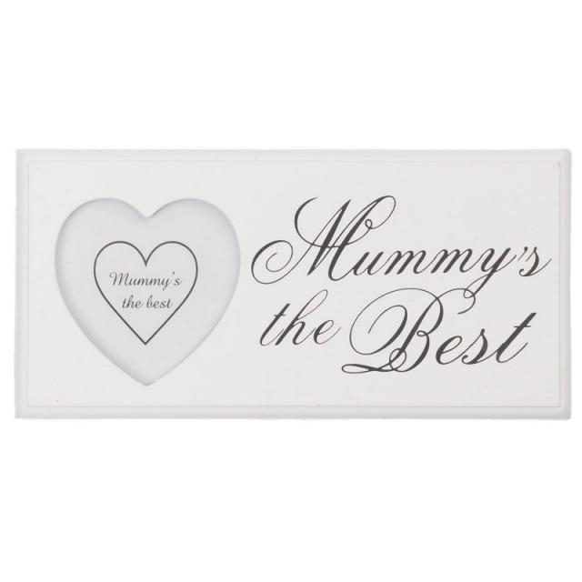 "Rama foto ""Mummy's the Best"" 8*7 cm, Clayre&Eef"