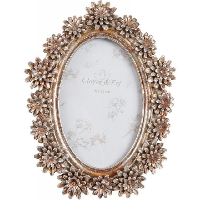 "Rama foto ""Crizantema"" 10*15 cm, Clayre & Eef"