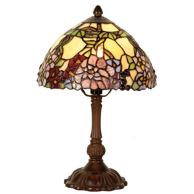 Lampa Tiffany, 22x32cm, E14/ Max 1 x 40W, Clayre & Eef