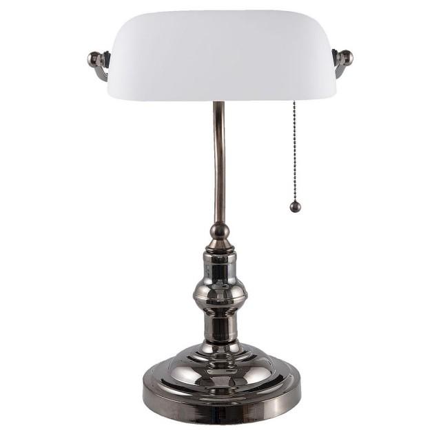 "Lampa de birou ""White"", Clayre & Eef"