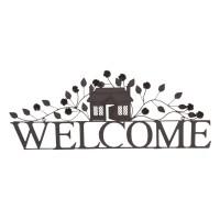 """Decoratiune """"Welcome"""", Clayre&Eef"""