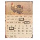 """Calendar metalic """"Garden Animals"""", Clayre&Eef"""