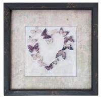 "Tablou ""Butterfly Heart"", Clayre&Eef"