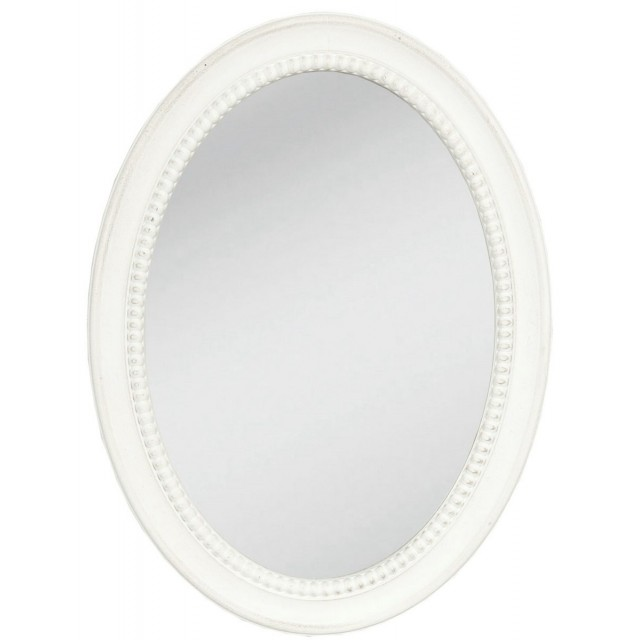 "Oglinda ""Oval White Shape"", Clayre & Eef"