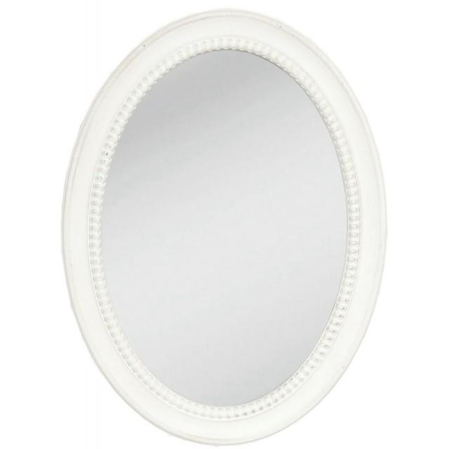 """Oglinda """"Oval White Shape"""", Clayre & Eef"""