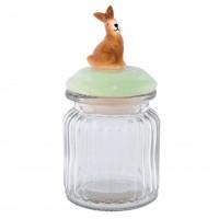 """Borcan pentru depozitare """"Funny Bunny""""  0.25 L, Clayre & Eef"""