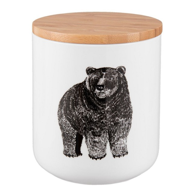 "Borcan pentru depozitare ""Bear"" 600 ml, Clayre & Eef"
