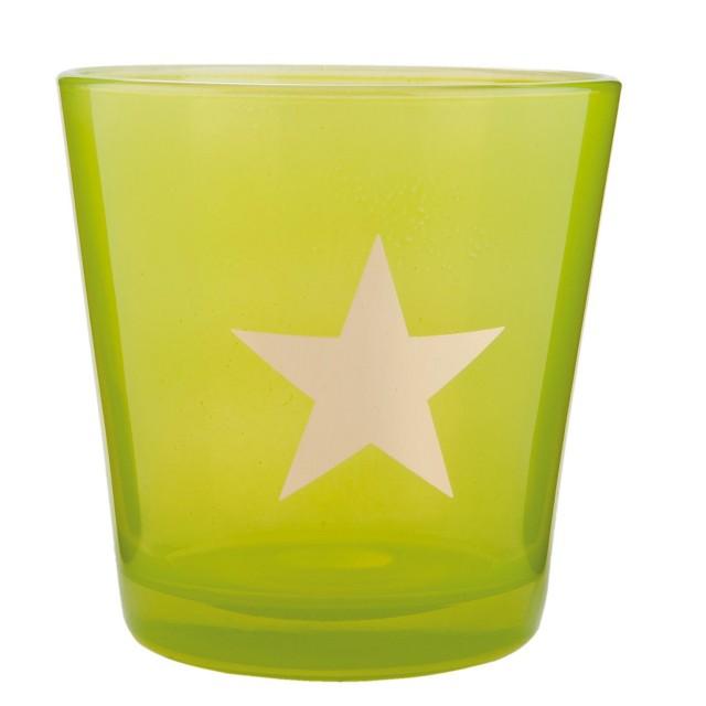 "Suport Lumanare ""Green Star"", Clayre & Eef"