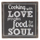 "Magnet ""Cooking with Love"", Clayre&Eef"
