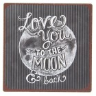 """Magnet """"To the moon"""", Clayre&Eef"""
