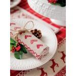 """Prosop de bucatarie """"Christmas Decorations"""", Clayre & Eef"""