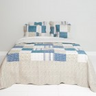 "Cuvertura ""Blue Passion""  Large 230*260 cm, Clayre & Eef"