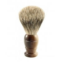 Edwin Jagger Pamatuf pentru barbierit Light Horn, Best Badger