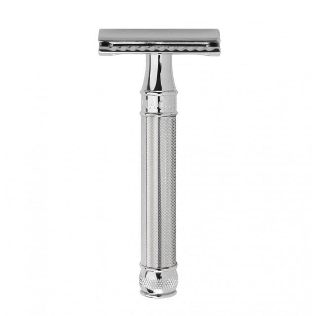 Edwin Jagger Aparat de barbierit clasic, DE89BA11BL Chrome