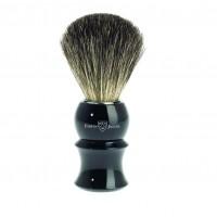Edwin Jagger Pamatuf pentru barbierit Ebony Sculpture, Pure Badger