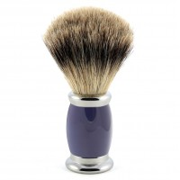 Edwin Jagger Pamatuf pentru barbierit Bulbous Blue, Best Badger