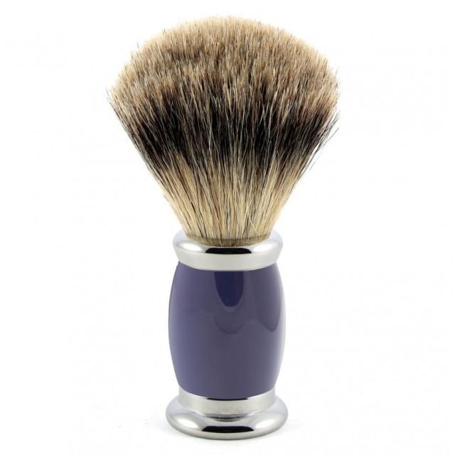 Edwin Jagger Pamatuf pentru barbierit Bulbous Blue, Best Badger