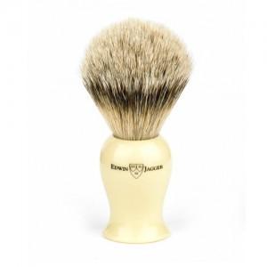 Edwin Jagger Pamatuf pentru barbierit Ivory, Silver Tip Badger