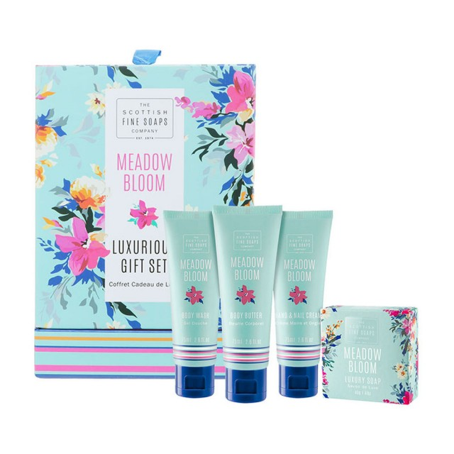 Set cadou pentru femei Meadow Bloom, The Scottish Fine Soaps