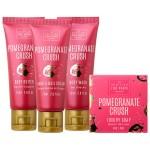 Set cadou pentru femei Pomegranate Crush, The Scottish Fine Soaps