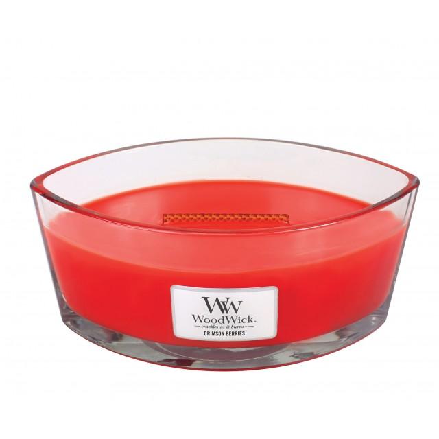 Lumanare Parfumata Ellipse Crimson Berries, WoodWick®