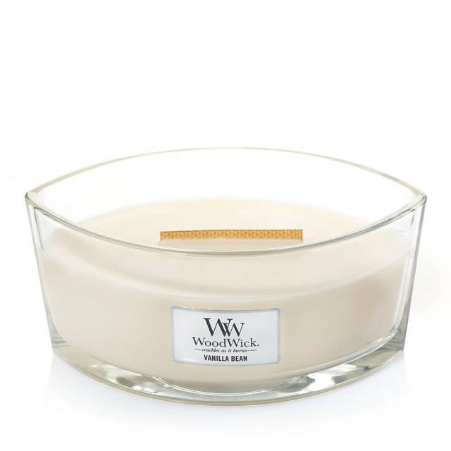 Lumanare Parfumata Ellipse Vanilla Bean, WoodWick®