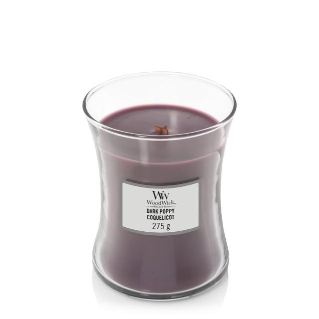 Lumanare Parfumata Borcan Mediu Dark Poppy, WoodWick®