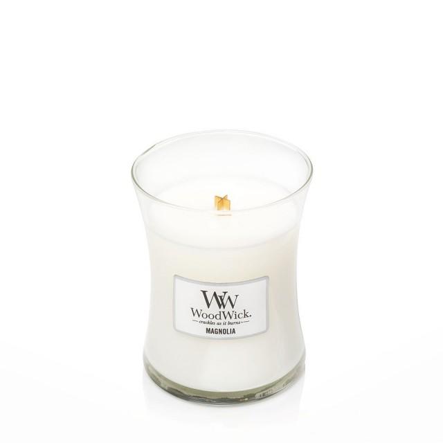 Lumanare Parfumata Borcan Mediu Magnolia, WoodWick®