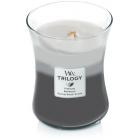 Lumanare Parfumata Borcan Mediu Trilogy Warm Woods, WoodWick®