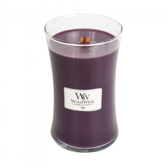 Lumanare Parfumata Borcan Mare Fig, WoodWick®