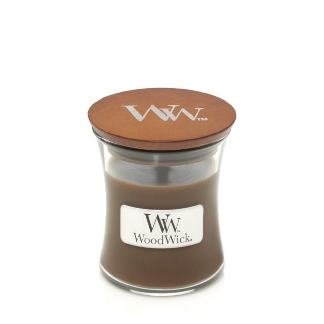 Lumanare Parfumata Borcan Mic Amber & Incense, WoodWick®